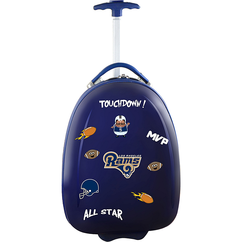 MOJO Denco Kids Luggage Pod Los Angeles Rams - MOJO Denco Kids Luggage - Luggage, Kids' Luggage