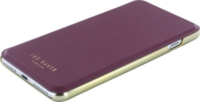Ted Baker iPhone 6 & 7 Plus Shannon Folio Case Oxblood - Ted Baker Electronic Cases