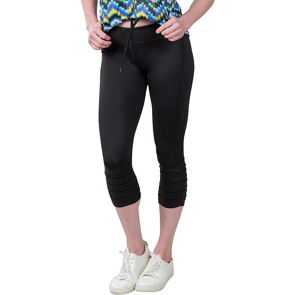 Soybu Surge Capri XS - Black - Soybu Womens Apparel - Apparel & Footwear, Women's Apparel