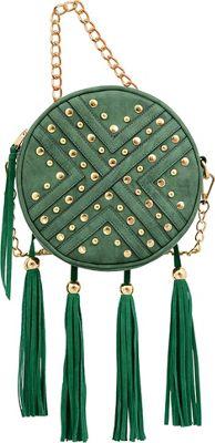 Mellow World Sandra Crossbody Emerald - Mellow World Manmade Handbags