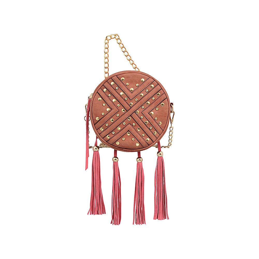 Mellow World Sandra Crossbody Chestnut - Mellow World Manmade Handbags