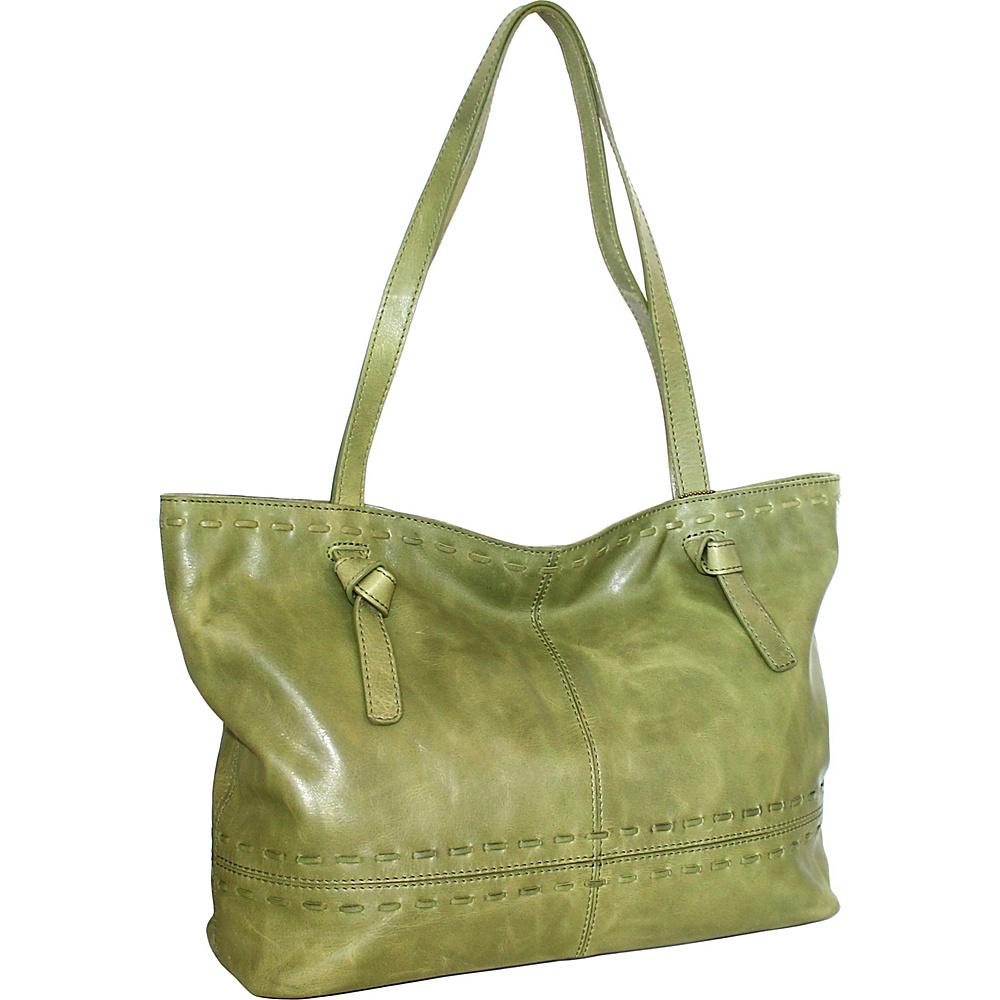 Nino Bossi Tricia Tote Avocado - Nino Bossi Leather Handbags - Handbags, Leather Handbags
