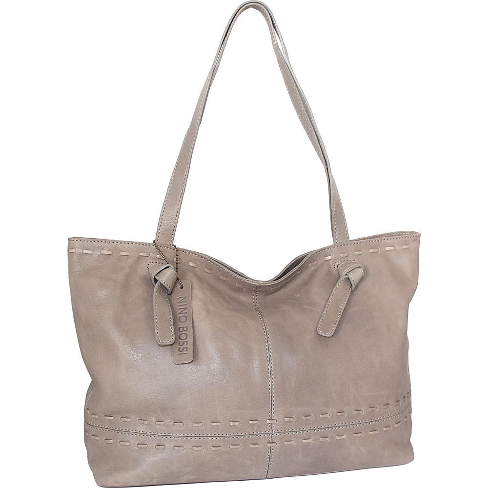 Nino Bossi Tricia Tote Stone - Nino Bossi Leather Handbags - Handbags, Leather Handbags