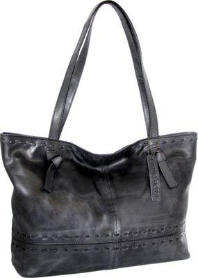 Nino Bossi Tricia Tote Black - Nino Bossi Leather Handbags
