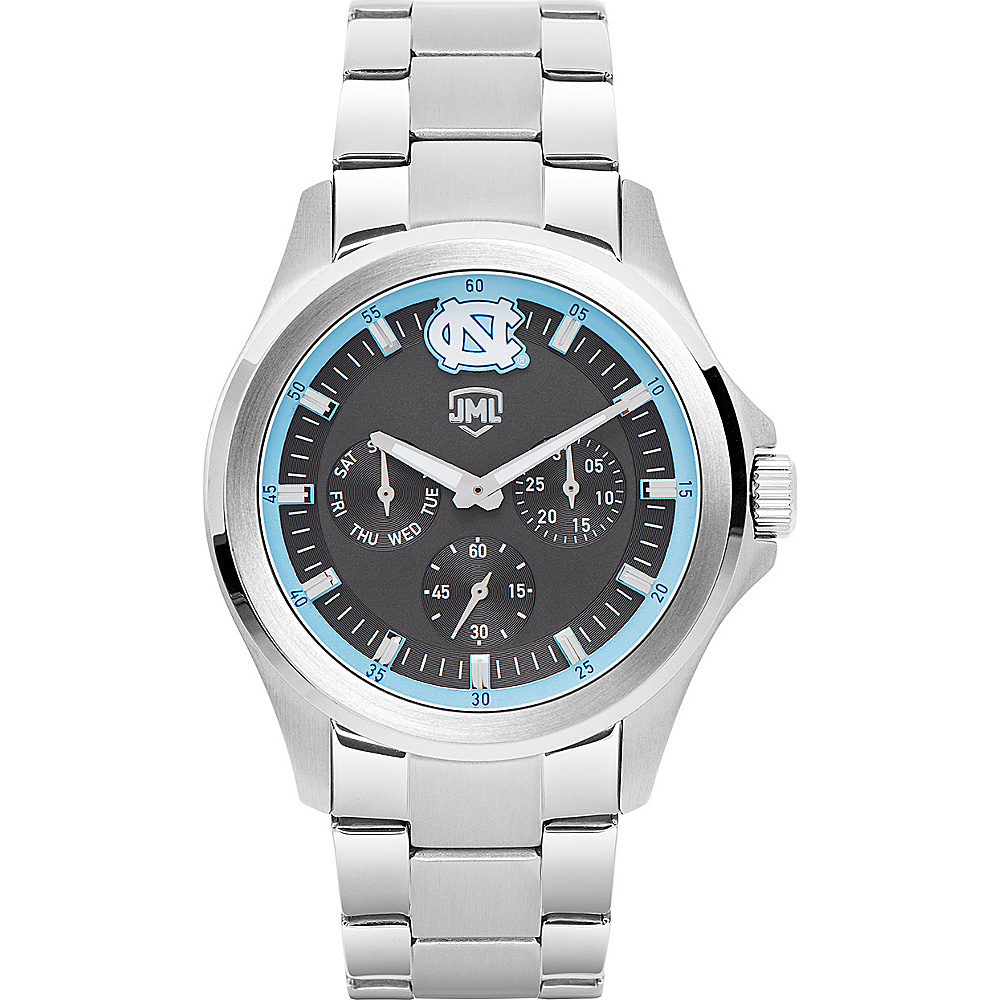 Jack Mason League Mens NCAA Silver Multifunction Watch North Carolina - Jack Mason League Watches - Fashion Accessories, Watches