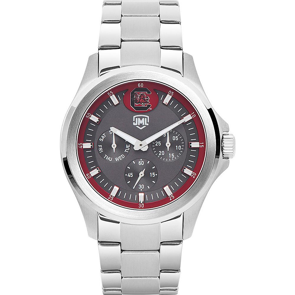 Jack Mason League Mens NCAA Silver Multifunction Watch South Carolina - Jack Mason League Watches - Fashion Accessories, Watches