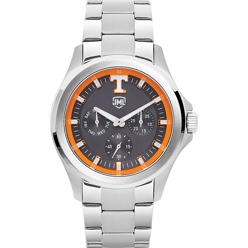 Jack Mason League Mens NCAA Silver Multifunction Watch Tennessee - Jack Mason League Watches - Fashion Accessories, Watches