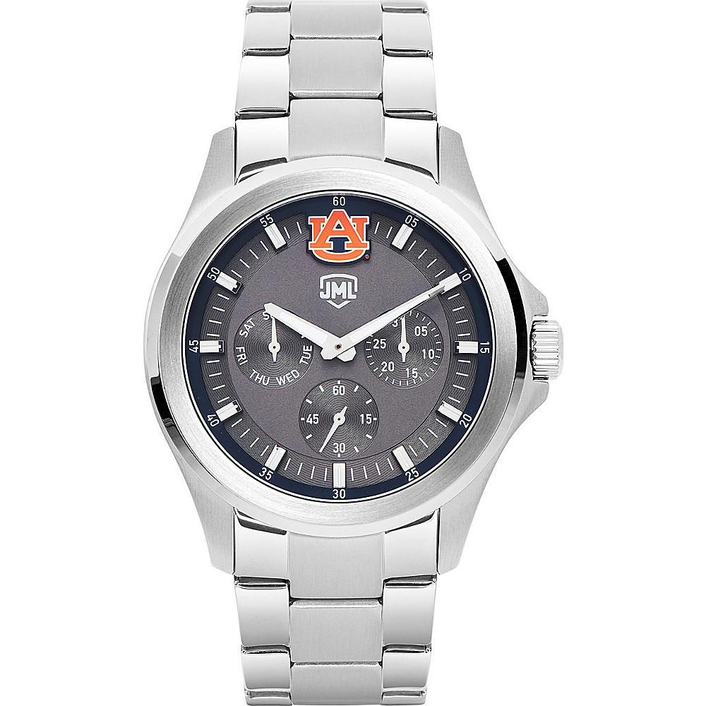 Jack Mason League Mens NCAA Silver Multifunction Watch Auburn - Jack Mason League Watches - Fashion Accessories, Watches