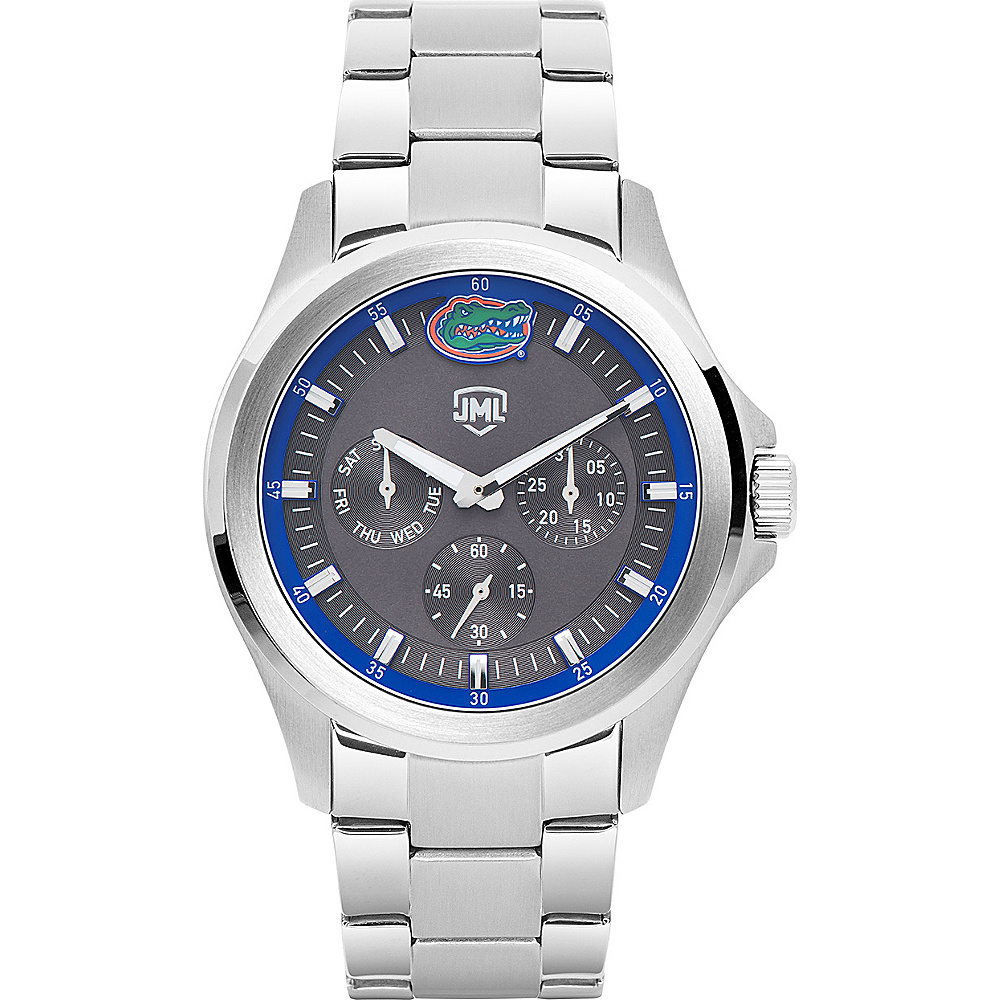 Jack Mason League Mens NCAA Silver Multifunction Watch Florida - Jack Mason League Watches - Fashion Accessories, Watches