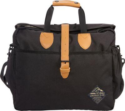 United by Blue Deuhl Laptop Messenger Bag Black - United by Blue Messenger Bags