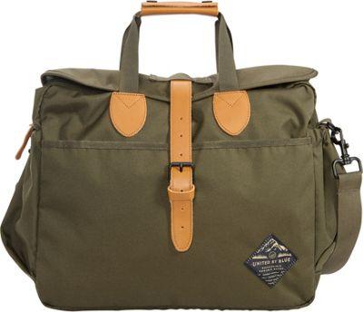 United by Blue Deuhl Laptop Messenger Bag Olive - United by Blue Messenger Bags
