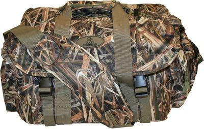 Ducks Unlimited Ducks Unlimited 250 Magnum Floating Blind Duffel Bag Blades Waterfowl Camoflage - Ducks Unlimited Hunting Bags