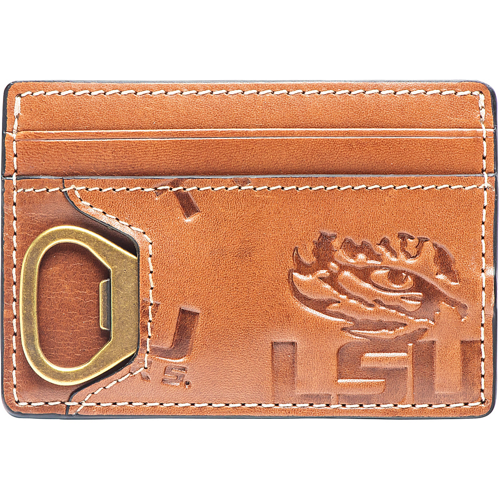 Jack Mason League NCAA Sideline ID Card Case LSU - Jack Mason League Mens Wallets - Work Bags & Briefcases, Men's Wallets