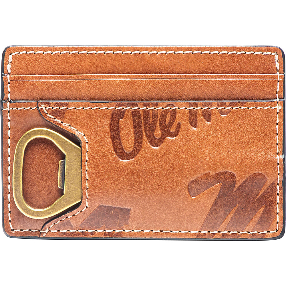 Jack Mason League NCAA Sideline ID Card Case Ole Miss - Jack Mason League Mens Wallets - Work Bags & Briefcases, Men's Wallets