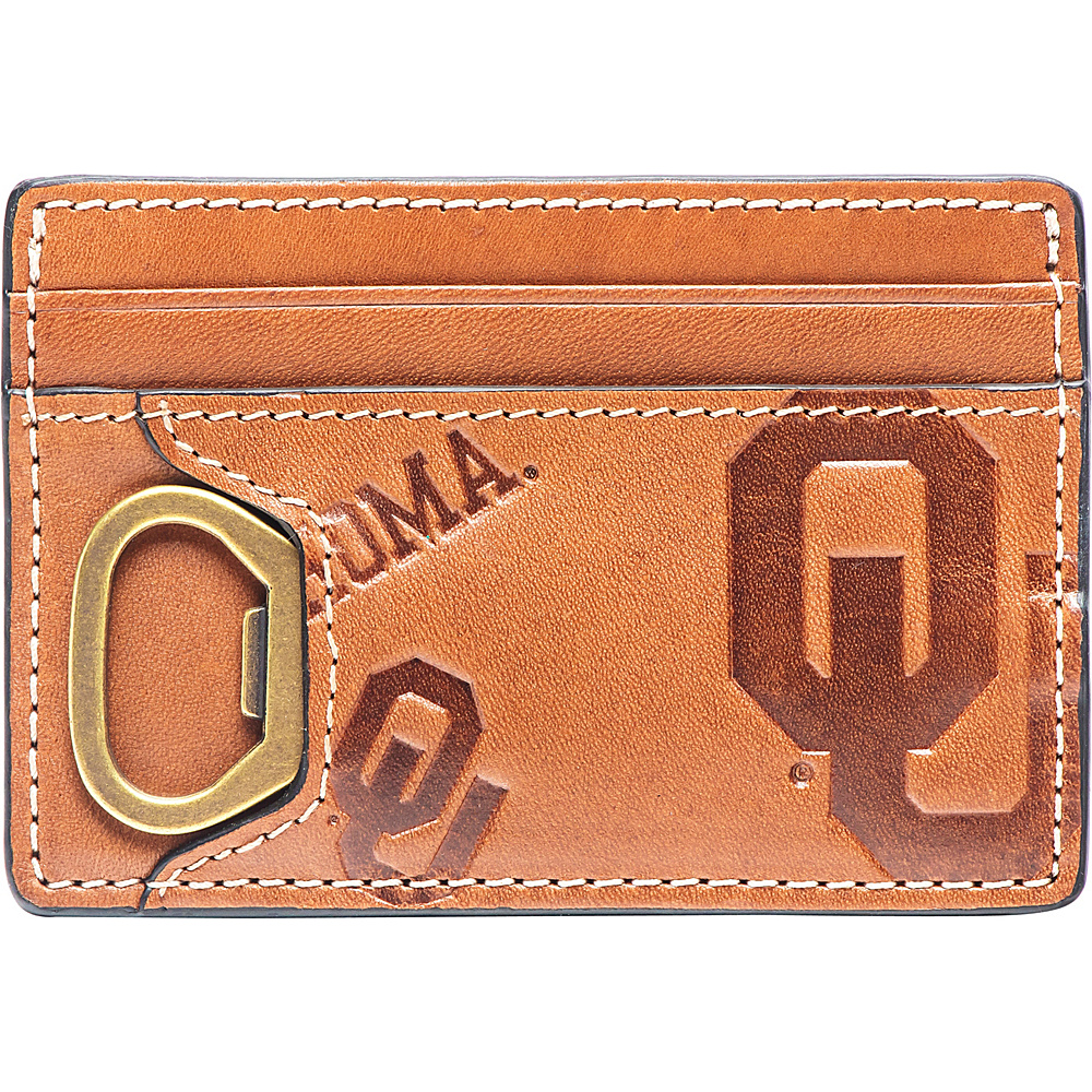 Jack Mason League NCAA Sideline ID Card Case Oklahoma - Jack Mason League Mens Wallets - Work Bags & Briefcases, Men's Wallets