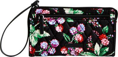Vera Bradley RFID Front Zip Wristlet Winter Berry - Vera Bradley Fabric Handbags