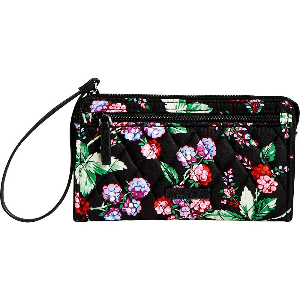 Vera Bradley RFID Front Zip Wristlet Winter Berry - Vera Bradley Fabric Handbags - Handbags, Fabric Handbags