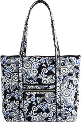Vera Bradley Iconic Vera Tote Snow Lotus - Vera Bradley Fabric Handbags