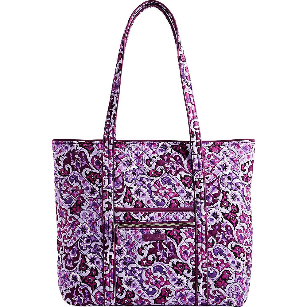 Vera Bradley Iconic Vera Tote Lilac Paisley - Vera Bradley Fabric Handbags - Handbags, Fabric Handbags