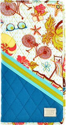 Inky & Bozko Beachy Keen Passport/Ticket Holder Beachy Keen - Inky & Bozko Travel Wallets