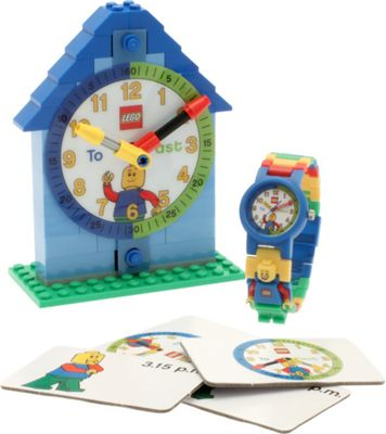 LEGO Watches Time-Teacher Minifigure Watch & Clock Blue - LEGO Watches Travel Electronics
