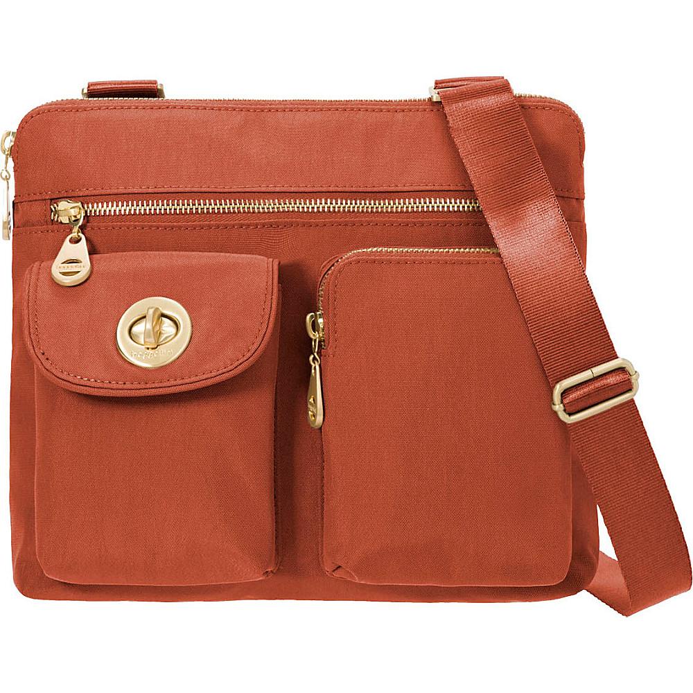 baggallini Melbourne Crossbody Adobe - baggallini Fabric Handbags - Handbags, Fabric Handbags