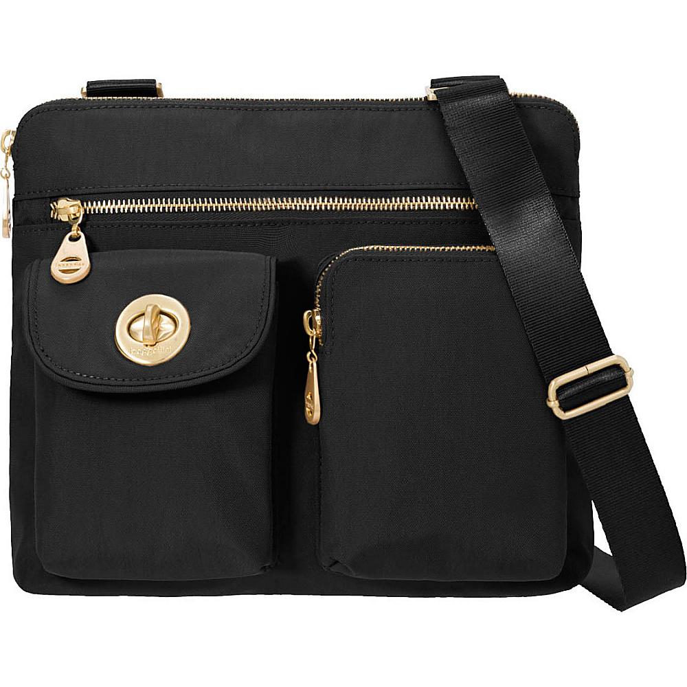 baggallini Melbourne Crossbody Black - baggallini Fabric Handbags - Handbags, Fabric Handbags