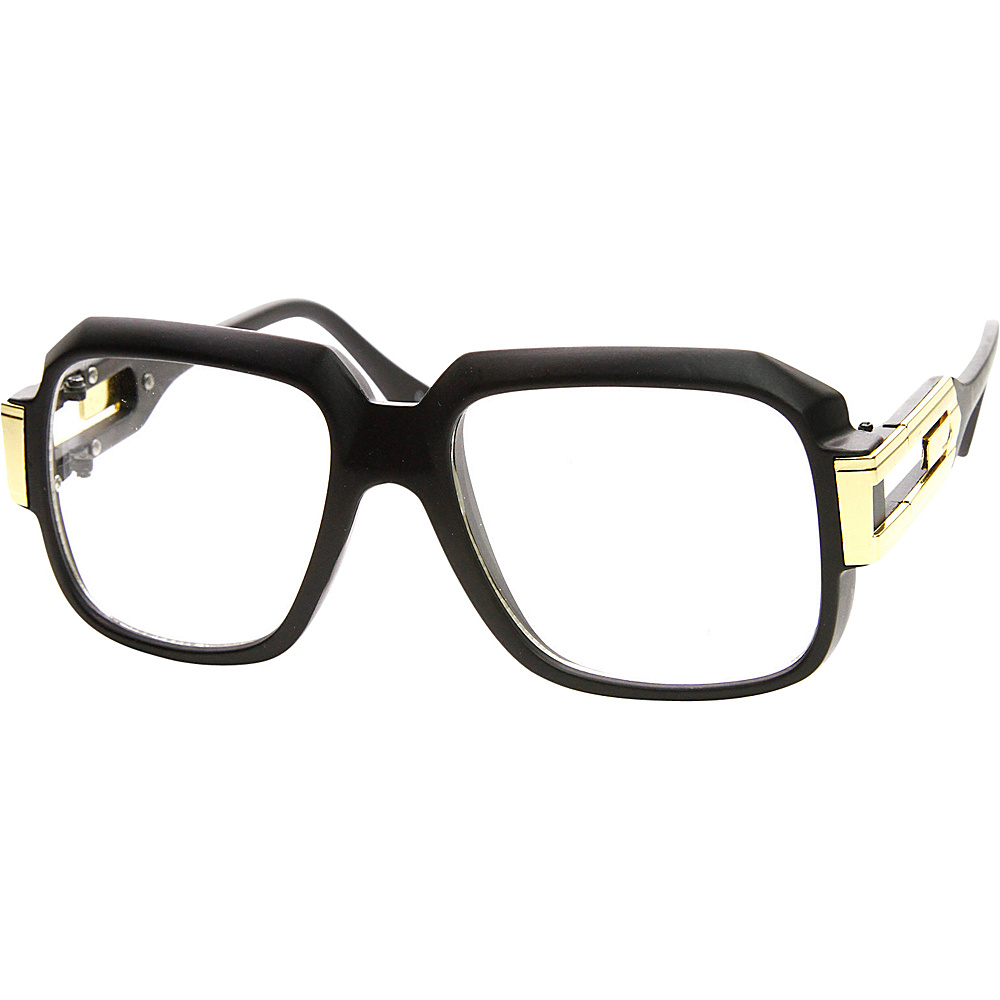 SW Global Betsy Square Fashion Sunglasses Black-Gold - SW Global Eyewear - Fashion Accessories, Eyewear