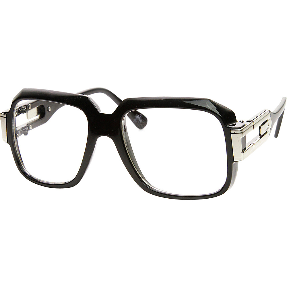 SW Global Betsy Square Fashion Sunglasses Black-Silver - SW Global Eyewear - Fashion Accessories, Eyewear