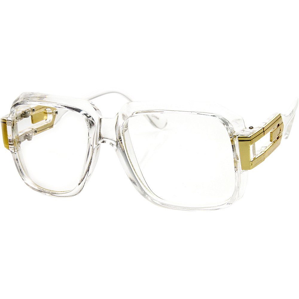 SW Global Betsy Square Fashion Sunglasses Clear-Gold - SW Global Eyewear - Fashion Accessories, Eyewear