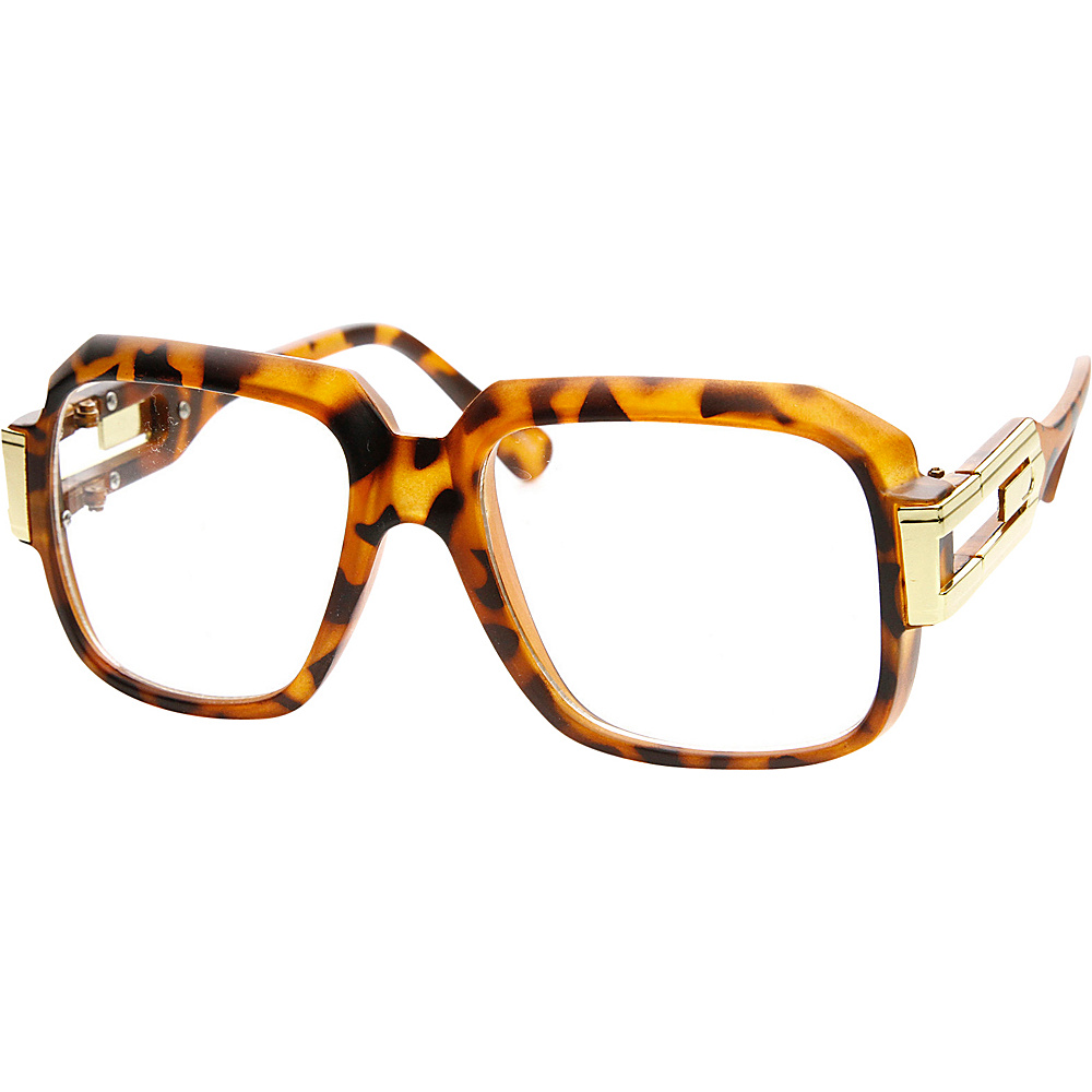 SW Global Betsy Square Fashion Sunglasses Leopard-Gold - SW Global Eyewear - Fashion Accessories, Eyewear