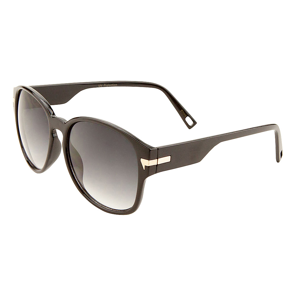 SW Global Iris Bold Framed Square Fashion Sunglasses Black - SW Global Eyewear - Fashion Accessories, Eyewear