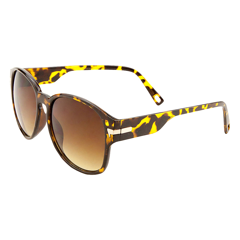 SW Global Iris Bold Framed Square Fashion Sunglasses Leopard - SW Global Eyewear - Fashion Accessories, Eyewear
