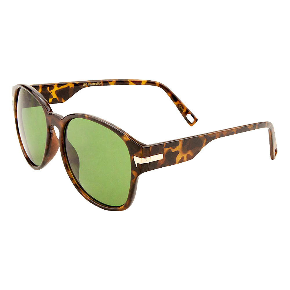 SW Global Iris Bold Framed Square Fashion Sunglasses Leopard Smoke - SW Global Eyewear - Fashion Accessories, Eyewear