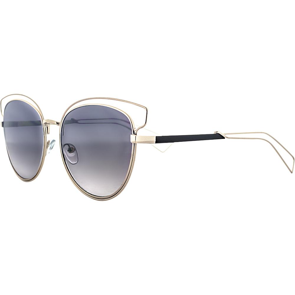 SW Global Rectangular Frame Full Metal Aviator UV400 Sunglasses Black - SW Global Eyewear - Fashion Accessories, Eyewear