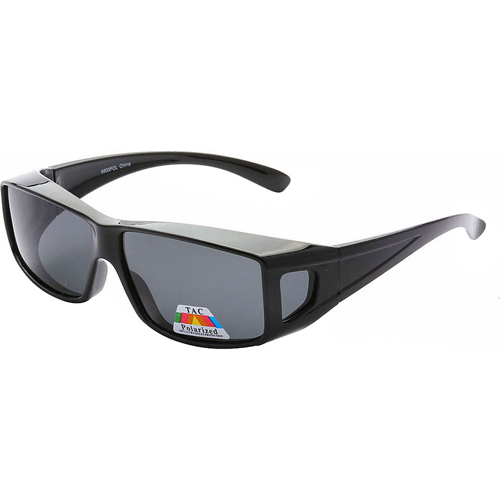 SW Global Polarized Full View Fit Over Sunglasses Black - SW Global Eyewear - Fashion Accessories, Eyewear