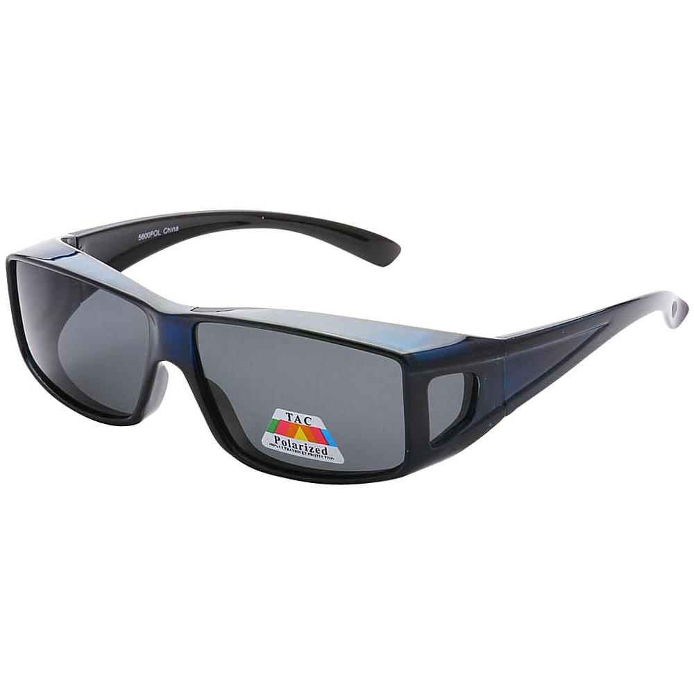 SW Global Polarized Full View Fit Over Sunglasses Blue - SW Global Eyewear - Fashion Accessories, Eyewear