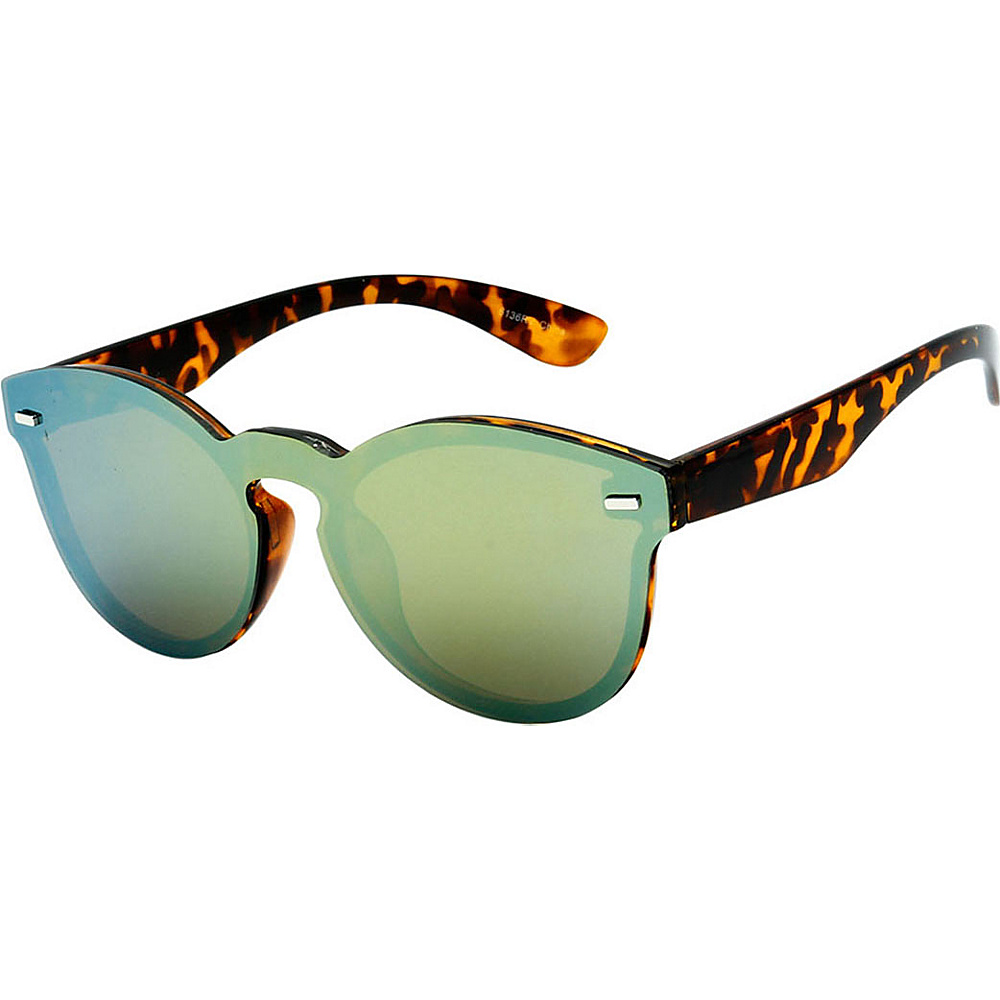 SW Global High Fashion Horn Rimmed Frameless Sunglasses Model:1 Leopard - SW Global Eyewear - Fashion Accessories, Eyewear