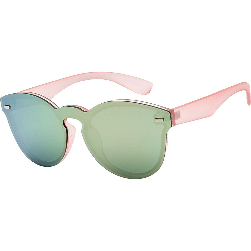 SW Global High Fashion Horn Rimmed Frameless Sunglasses Model:1 Pink - SW Global Eyewear - Fashion Accessories, Eyewear
