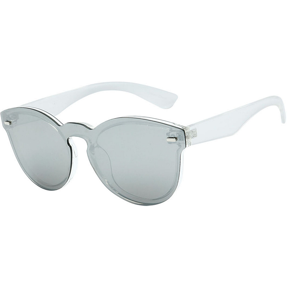SW Global High Fashion Horn Rimmed Frameless Sunglasses Model:1 Clear - SW Global Eyewear - Fashion Accessories, Eyewear