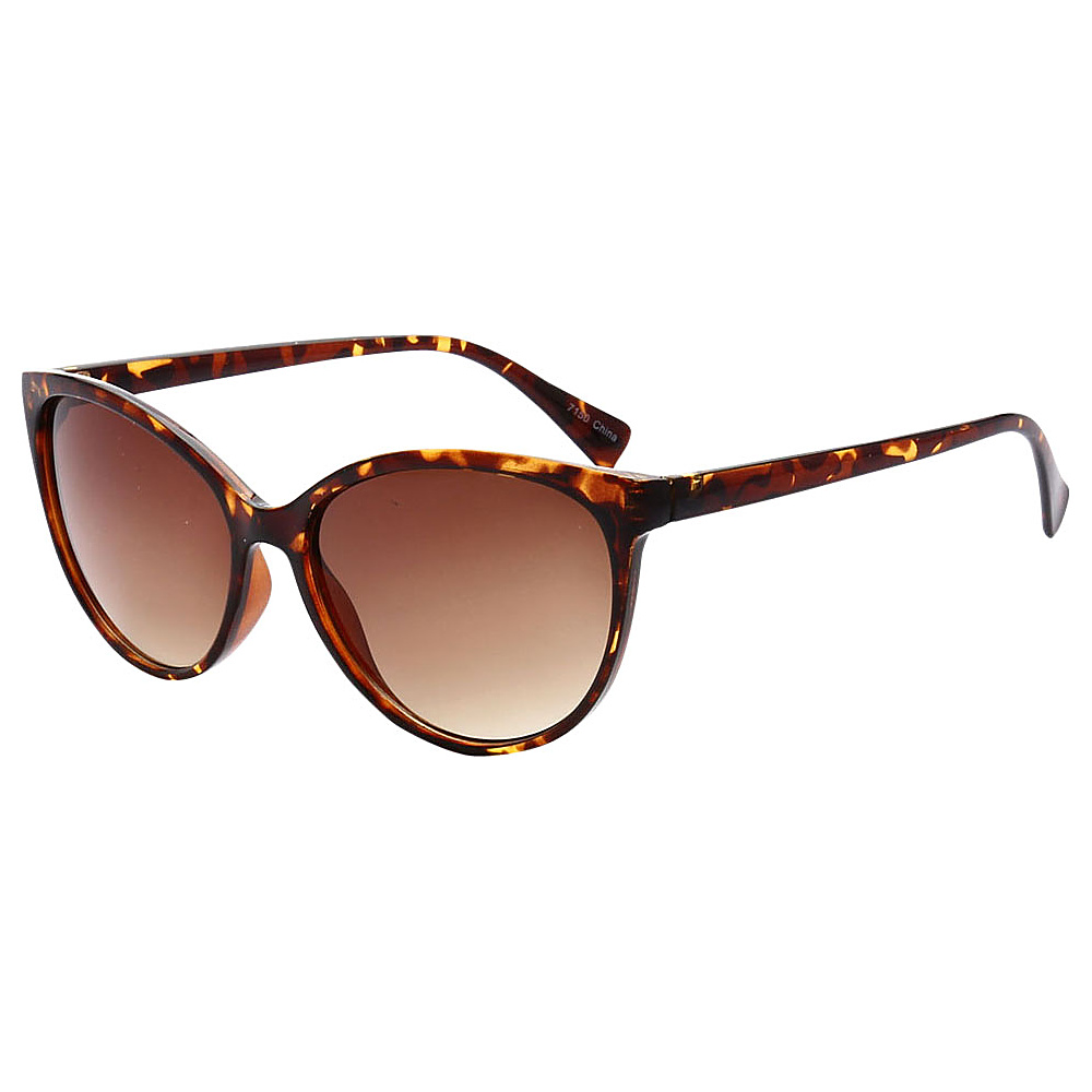 SW Global Womens Minneapolis Cateye Retro Square Sunglasses Leopard - SW Global Eyewear - Fashion Accessories, Eyewear