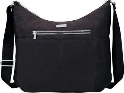 baggallini Zion Hobo Black/Pewter - baggallini Fabric Handbags