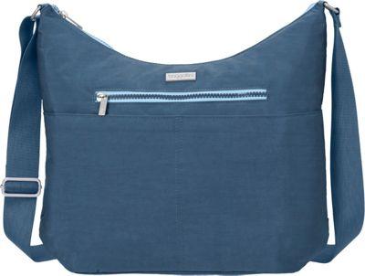 baggallini Zion Hobo Slate Blue - baggallini Fabric Handbags
