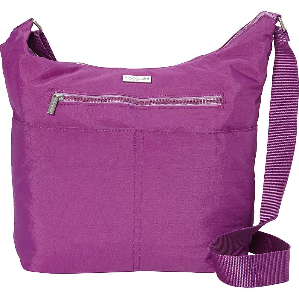 baggallini Zion Hobo Magenta - baggallini Fabric Handbags - Handbags, Fabric Handbags