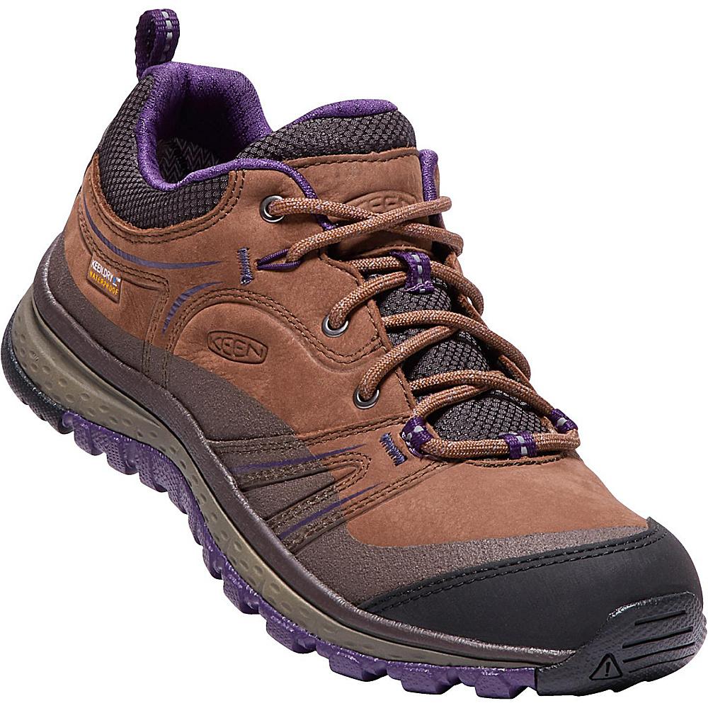KEEN Womens Terradora Leather Waterproof Shoe 8 - Scotch/Mulch - KEEN Mens Footwear - Apparel & Footwear, Men's Footwear