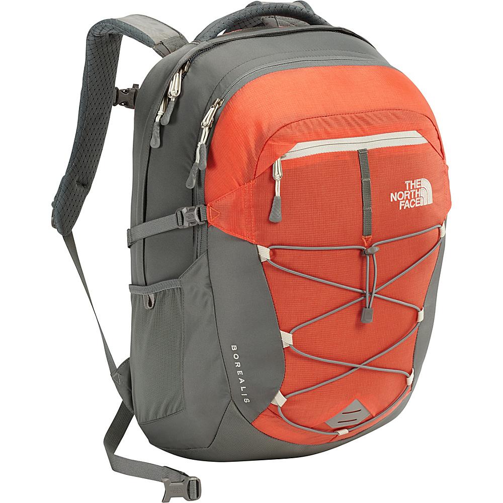 The North Face Womens Borealis Laptop Backpack 15- Sale Colors Nasturtium Orange/Sedona Sage Grey - The North Face Business & Laptop Backpacks - Backpacks, Business & Laptop Backpacks