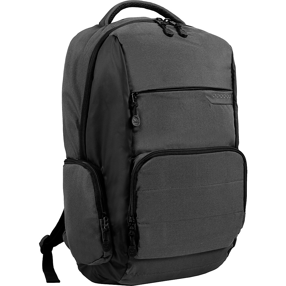 J World New York Caliber Laptop Backpack Grey - J World New York Laptop Backpacks - Backpacks, Laptop Backpacks