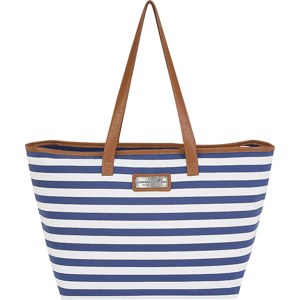 Sun N Sand Nautical Stripes Shoulder Tote Navy - Sun N Sand Fabric Handbags - Handbags, Fabric Handbags