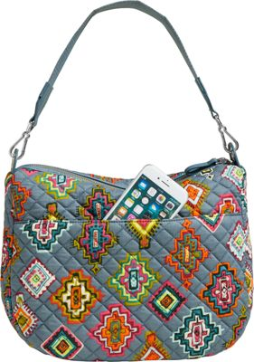 Vera Bradley Carson Shoulder Bag Painted Medallions - Vera Bradley Fabric Handbags