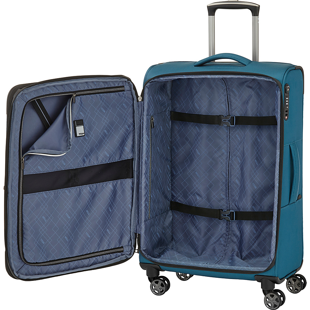 "Titan Bags Nonstop Multifunctional 31"" Checked Spinner Large ..."